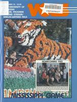 1983 Football Program - UT vs Mississippi