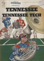 1950 Football Program - UT vs Tennessee Tech
