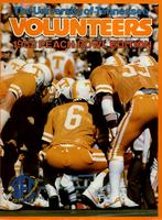 1982 Football Bowl Guide - UT vs Iowa (Peach Bowl)