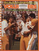 1981 Football Press Guide - UT vs Wisconsin (Garden State Bowl)