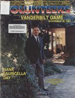 1981 Football Program - UT vs Vanderbilt