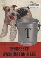 1950 Football Program - UT vs Washington & Lee