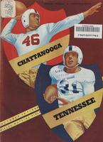 1950 Football Program - UT vs UT-Chattanooga