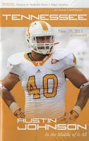 2011 Football Program - UT vs Vanderbilt