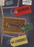 1949 Football Program - UT vs Vanderbilt