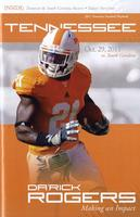 2011 Football Program - UT vs South Carolina