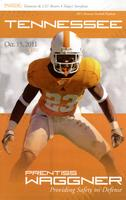 2011 Football Program - UT vs LSU
