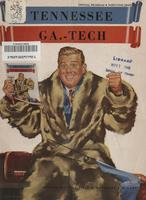 1949 Football Program - UT vs Georgia Tech