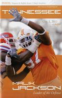 2011 Football Program - UT vs Buffalo