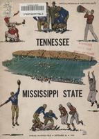 1949 Football Program - UT vs Mississippi State