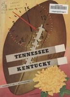 1948 Football Program - UT vs Kentucky