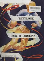 1948 Football Program - UT vs North Carolina