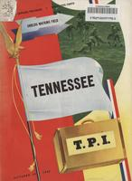 1948 Football Program - UT vs Tennessee Tech