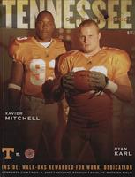 2007 Football Program - UT vs Louisiana-Lafayette