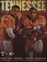 2007 Football Program - UT vs Georgia