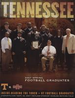 2007 Football Program - UT vs Arkansas State