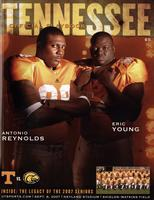 2007 Football Program - UT vs Southern Mississippi