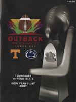 2006 Football Program - UT vs Penn State (Outback Bowl)