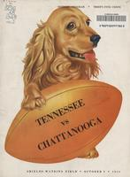 1948 Football Program - UT vs UT-Chattanooga