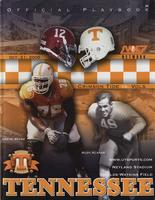 2006 Football Program - UT vs Alabama
