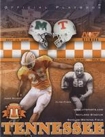 2006 Football Program - UT vs Marshall
