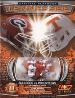 2005 Football Program - UT vs Georgia