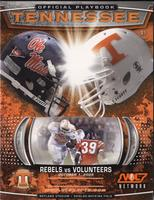 2005 Football Program - UT vs Mississippi