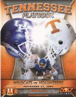 2004 Football Program - UT vs Kentucky