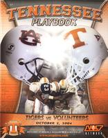 2004 Football Program - UT vs Auburn