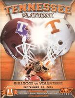 2004 Football Program - UT vs Louisiana Tech