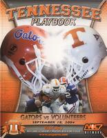 2004 Football Program - UT vs Florida