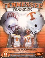 2004 Football Program - UT vs UNLV