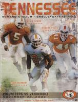 2003 Football Program - UT vs Vanderbilt