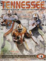 2003 Football Program - UT vs Mississippi State