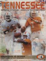 2003 Football Program - UT vs Georgia