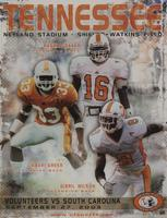 2003 Football Program - UT vs South Carolina