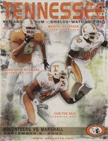 2003 Football Program - UT vs Marshall