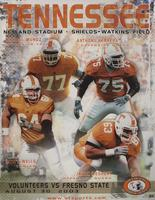 2003 Football Program - UT vs Fresno State