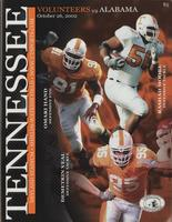 2002 Football Program - UT vs Alabama