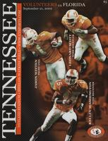 2002 Football Program - UT vs Florida