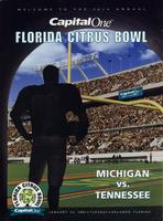 2001 Football Program - UT vs Michigan (Citrus Bowl)