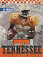 2001 Football Program - UT vs Memphis