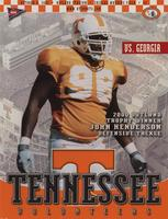 2001 Football Program - UT vs Georgia