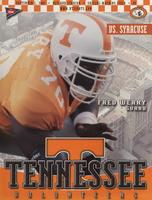 2001 Football Program - UT vs Syracuse
