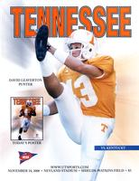 2000 Football Program - UT vs Kentucky