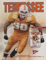 2000 Football Program - UT vs Arkansas