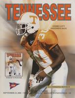 2000 Football Program - UT vs Louisiana-Monroe