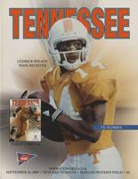 2000 Football Program - UT vs Florida