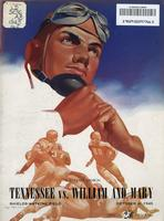 1945 Football Program - UT vs William & Mary
