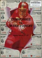 1945 Football Program - UT vs Wake Forest